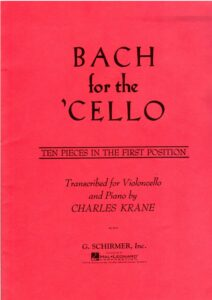 a - Bach J.S. - Bach for the Cello [Ten Pieces in the First Position] (Krane)