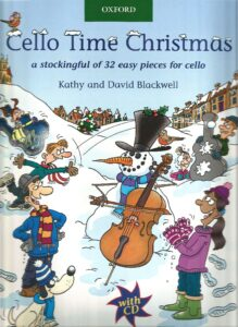 a - Blackwell K. and D. - Cello Time Christmas [+CD] (Oxford)