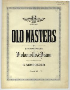 a - Old Masters books 6-10 (Schroeder)