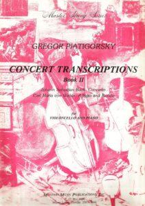 a - Piatigorsky G. - Concert Transcriptions book 2