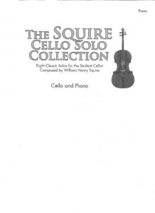 a - Sqire W.H. - 8 Pieces for Cello and Piano [+CD]