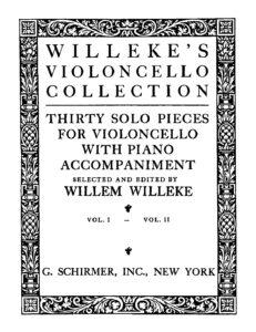 a - Willeke's Violoncello Collection vol.1