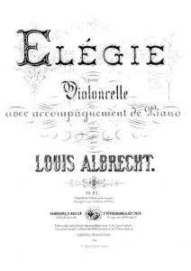 cp - Albrecht L. - Elegie