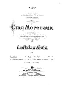 cp - Aloiz L. - Melodie Op.47 No.1