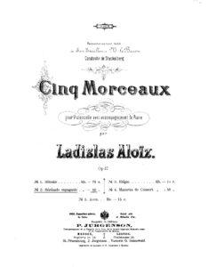 cp - Aloiz L. - Serenade Espagnole Op.47 No.2
