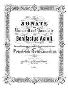 cp - Asioli B. - Cello Sonata (Grutzmacher)