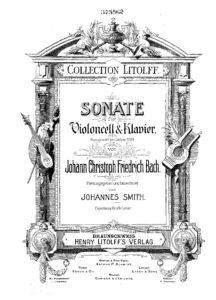 cp - Bach J.C. - Sonata Op.1789 (Smith)