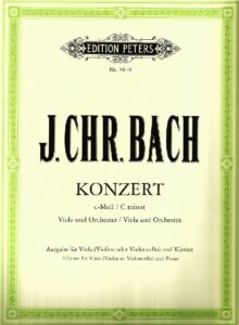 cp - Bach J.C. (Casadesus A.) - Concerto in C minor (Salabert, Peters)