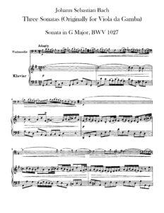 cp - Bach J.S. - 3 Sonatas for Viola da Gamba and Harpsichord BWV 1027-1029 (Klengel)
