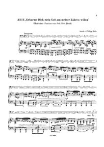 cp - Bach J.S. - Arie Erbarme Dich from Matthew's Passion (Roth)
