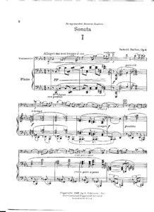 cp - Barber S. - Cello Sonata Op.6