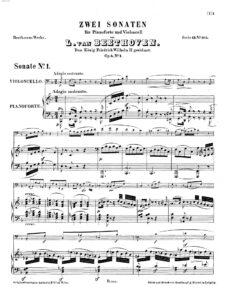 cp - Beethoven L. - Cello Sonata No.1 (Op.5 No.1)