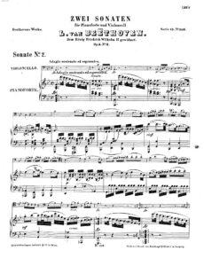 cp - Beethoven L. - Cello Sonata No.2 (Op.5 No.2)