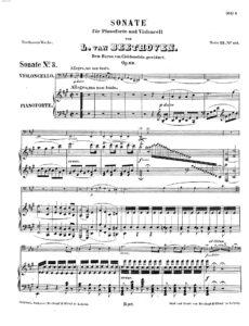 cp - Beethoven L. - Cello Sonata No.3 Op.69