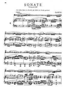 cp - Beethoven L. - Cello Sonata No.4 [Op.102 No.1] (Peters)