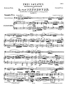 cp - Beethoven L. - Cello Sonata No.4 (Op.102 No.1)