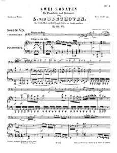 cp - Beethoven L. - Cello Sonata No.5 (Op.102 No.2)