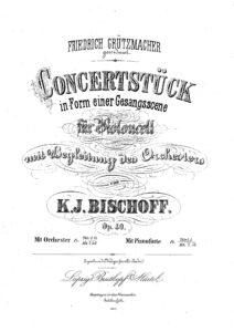cp - Bischoff K.J. - Konzertschtuck Op.40