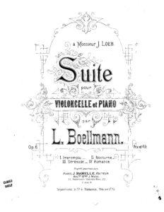 cp - Boellmann L. - Suite Op.6