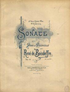 cp - Boisdeffre R. - Sonata Op.66
