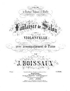 cp - Boissaux J. - Fantasie de Salon