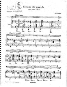 cp - Borodin A. - Serenata alla spagnola (Cassado)