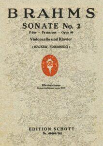 cp - Brahms J. - Cello Sonata No.2 in F Op.99 (Becker)