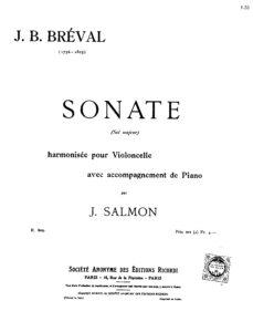 cp - Breval J.B. - Sonata in G (Salmon)