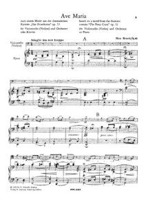 cp - Bruch M. - Ave Maria Op.61 (Simrock)