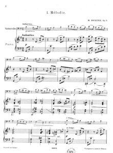 cp - Bukinik M. - Melodie Op.9 No.1 (Jurgenson)