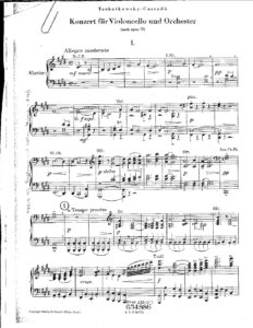 cp - Cassado G. - Concerto on Tschaikovsky Themes from Op.72