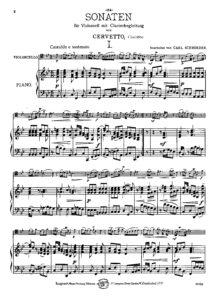 cp - Cervetto G. - Sonata in B flat (Schroeder)