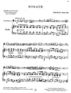 cp - Cervetto G. - Sonata in C (Salmon)