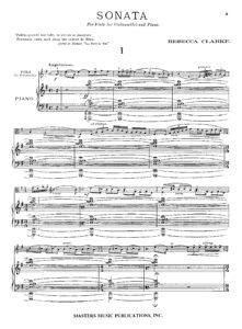 cp - Clarke R. - Viola Sonata in E minor