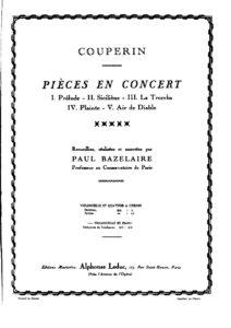 cp - Couperin F. - Pieces en Concert
