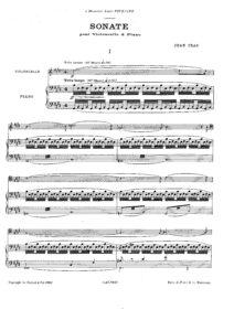 cp - Cras J. - Cello Sonata (Durand)