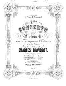 cp - Davidoff C. - Concerto No.4 Op.31 (Kistner)