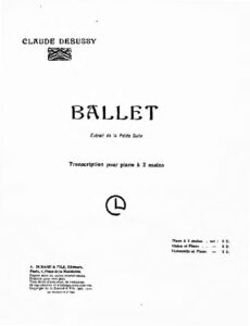 cp - Debussy C. - Ballet from Petite Suite