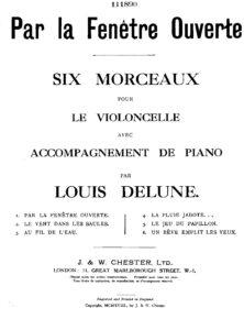 cp - Delune L. - 6 Piecess