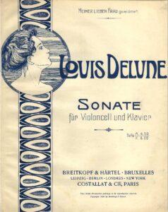 cp - Delune L. - Cello Sonata (B&H)