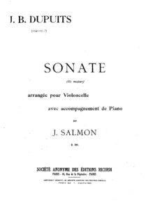 cp - Dupuits J.B. - Sonata in D (Salmon)