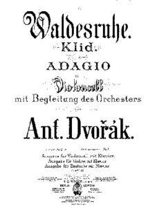 cp - Dvorak A. - Silent Wood [Klid] Op. 68 No. 5 (Simrock)