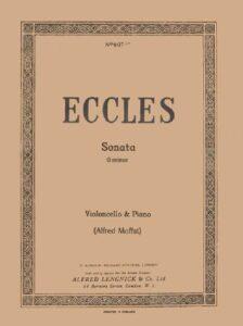 cp - Eccles H. - Sonata in G minor (Moffat. Simrock)