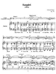 cp - Elgar E. - Sospiri Op.70
