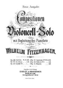 cp - Fitzenhagen W. - Capriccio Op.40