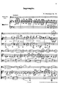 cp - Fitzenhagen W. - Impromptu Op.13