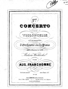 cp - Franchomme A. - Cello Concerto No1 Op.33
