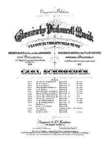 cp - Galeotti S. - Cello Sonata in D minor (Schroeder)