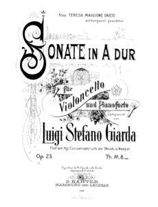 cp - Giarda L.S. - Sonata in A Op.23