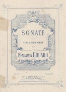 cp - Godard B. - Sonata Op.104